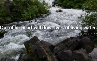"""""""Rivers of Living Water"""": Why Jesus Gives Us the Holy Spirit (John 7:38–39)"""