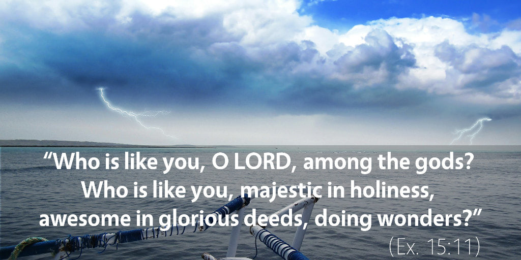 March 4th: Bible Meditation for Exodus 15
