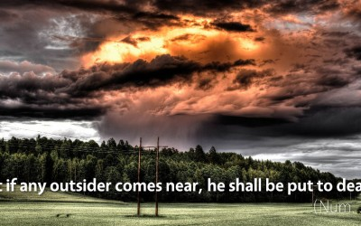 April 26th: Bible Meditation for Numbers 3