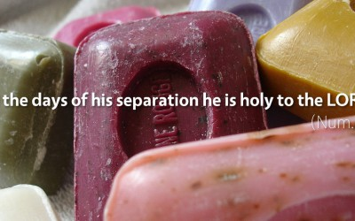 April 29th: Bible Meditation for Numbers 6