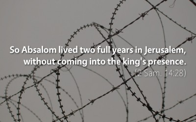 September 18th: Bible Meditation for 2 Samuel 14